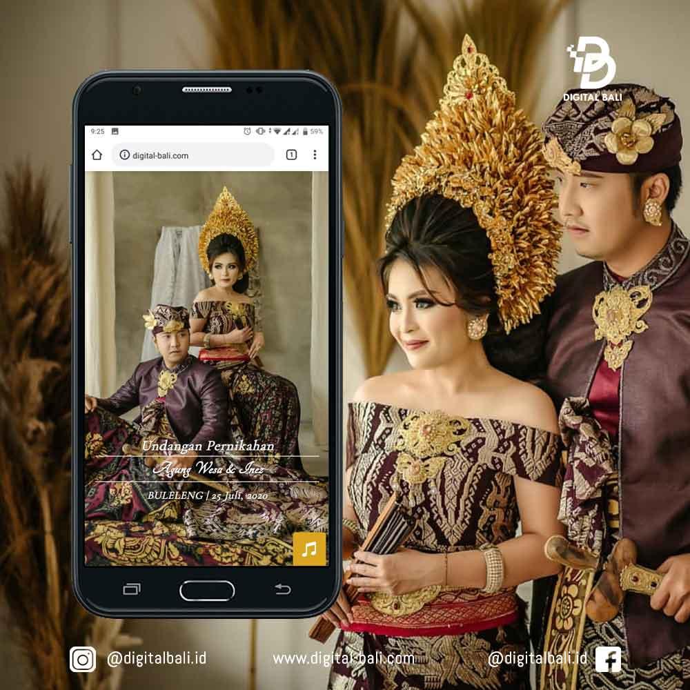 Agung & Wesa | Digital Bali Undangan Online